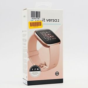 Fitbit Versa 2 34mm Smartwatch Petal / Copper Rose FB507RGPK -RS2147