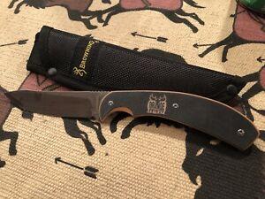 Browning Knife And Sheath Orange Friday