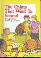 The Chimp that Went to School by Peggy Parish (1982)  Weekly Reader