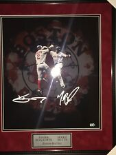 Mookie Betts and Xander Boegaerts signed 16x20 with MLB Cert