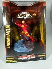 Marvel Legends Titanium Series Die Cast Ironman Posable Figure New Galoob