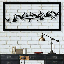 Metal Bird Wall Art, Metal Wall Decor, Flying Birds Decoration, Metal Wall Art
