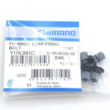 Shimano XT FC-M8000 Gear Fixing Bolts for Single Chainring 30T/32T/34T, 4pcs