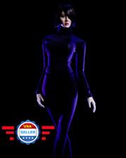 1/6 Turtleneck Stretch Slim Top Pants Set BLACK for 12'' Female Figure PHICEN