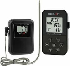 Accuon Wireless Digital Thermometer Set - Remote BBQ / Smoker / Grill / Oven
