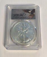 2020 1oz Silver Eagle PCGS MS70 FDOI Thomas Cleveland Shield Edition of 2500