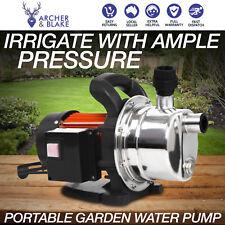 Garden Electric Water Pump Portable Transfer Tank High Flow Pressure 54L/Min
