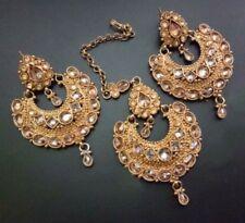 Indian jewellery traditional vintage maang tikka / headpiece / head piece set