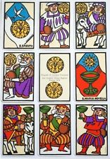 Florentine Historical Football playing cards Italian rare sealed wooden box 1978