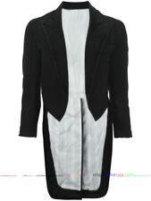 BLACK DENIM UNISEX TAILCOAT, Elongated Jacket