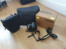 Nikon D3200 Cámara Con Accesorios abierto pero no utilizados