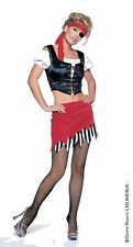 New Sexy Pirate Buccaneer Complete 5 Piece Costume or Gypsy Costume Small Medium