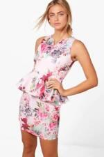 Vestiti da donna rosa floreale Taglia 42