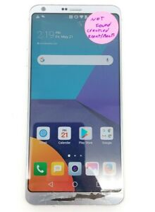 LG G6 32GB Ice Platinum AT&T Smartphone Poor Condition Sold For Parts