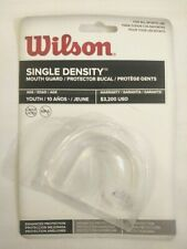Mouth Guard Youth Clear Wilson Football protect teeth safe basketball