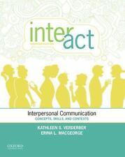 INTER-ACT - VERDERBER, KATHLEEN S./ MACGEORGE, ERINA L./ VERDERBER, RUDOLPH F./