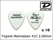 JIM DUNLOP Artist Pick Yngwie Malmsteen Pick x10pc 2.00mm Free Shipping
