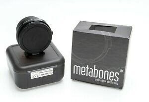 Boxed Metabones Canon EF to Sony E Mount MK IV Adaptor Immaculate!
