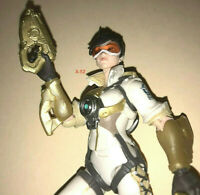 OVERWATCH Ultimates White TRACER female action figure Blizzard toy Lena Oxton
