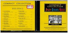 CD - 2330 - COMPACT COLLECTION  - JAZZ. BLUES . SOUL - 1933 - 1934 /2
