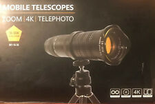 Mobile Phone Telescope Telephoto Smartphone Camera Lens HD 4K 18-30x Zoom