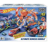 Hot Wheels Ultimate City Track Set, For Ages 4 & Over Brand New