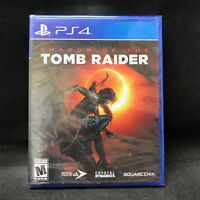 Shadow of the Tomb Raider (PS4) BRAND NEW / Region Free