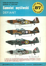 TYPI BRONI 87 BOULTON PAUL DEFIANT WW2 RAF TURRET FIGHTER_NIGHTFIGHTER_TARGET TU