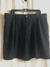 Greg Norman Play Dry Shorts Mens Size 40 Golf moisture wicking, Pleated Front