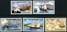GUERNSEY 1983 SHIPPING SET OF ALL 5 COMMEMORATIVE STAMPS MNH (w)