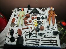 Vintage Marx Johnny West & Geronimo Action Figures and Accessories  Lot