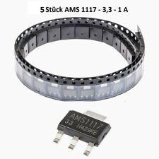 5 St. AMS 1117-3.3-1a Regolatore di tensione chassis sot223 COMP lm1117 ts1117 ld1117