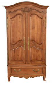 Stunning Ethan Allen Legacy Country French Style Maple Armoire Wardrobe B