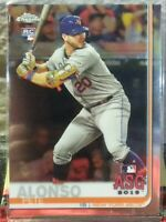 PETE ALONZO NEW YORK METS 2019 TOPPS CHROME ROOKIE CARD 1ST ALL-STAR GAME HOT!!!