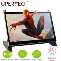 """For Raspberry Pi 2 3B 4 1024x600 7"""" IPS Display Capacitive Touch Screen Monitor"""