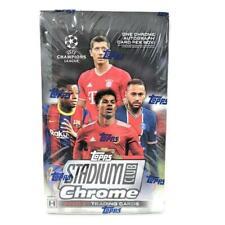 2021 Topps UEFA Stadium Club хром футбол хобби коробка