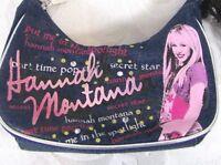 Hannah Montana Miley Cyrus Blue Denim Shoulder Purse VINTAGE RARE