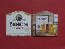 "Benedictine ""Weissbräu"" monastery Ettal Bayern Beer Lid New"