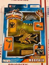 2003 Power Rangers Dino Thunder Brachio Morpher Complete In Box