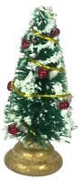 Dolls House Miniature Christmas Ornament Accessory Mini Decorated Xmas Tree