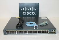 Cisco WS-C2960S-48FPS-L Catalyst 2960-S 48-Port PoE+ Network Switch