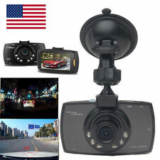 "1080P 2.4"" LCD Car Camera Full HD Dash Cam Crash DVR G-sensor Night Vision QW"
