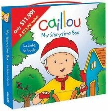 NEW Caillou: My Storytime Box: Boxed set (Clubhouse)