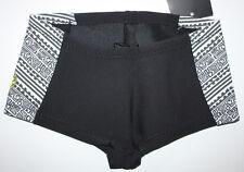 RIP CURL Womens Size10 Black White Neoprene Wetsuit Shorts G BOMB 1mm BOYLEG New