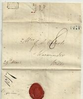 1829 TINY FRAMED BRISTOL DATED PENNY POST BS146 ELIZA GILBY LETTER>SARAH ROBERTS