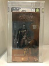 Star Wars Black Series The Mandalorian Carbonized 8.5 Graded (Target Exclusive)