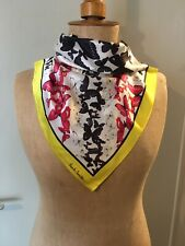 Paul Smith Women's Silk Scarf Butterfly Union Jack Design