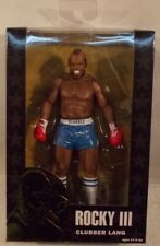 Rocky Clubber Lang Blue Trunks NECA Rocky III Mr T Movie Action Figure (Boxed)