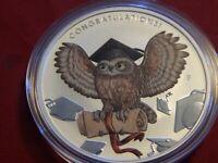 2018-P 1 oz. $1 Australia Congratulations on your Graduation Silver Coin