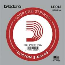 More details for d'addario custom singles: loop ended strings for mandolin: 009 - 040